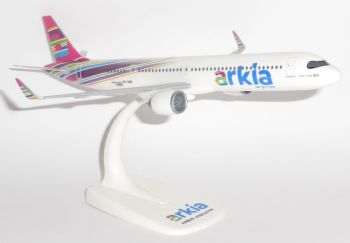Airbus A321 NEO Arkia Airlines Israel Herpa Collectors Model Scale 1:200 612524 G